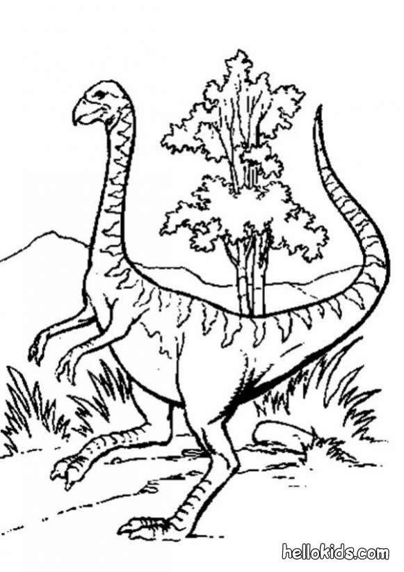 seltsamer dinosaurier zum ausmalen zum ausmalen - de