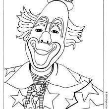 Lächelnder Clown