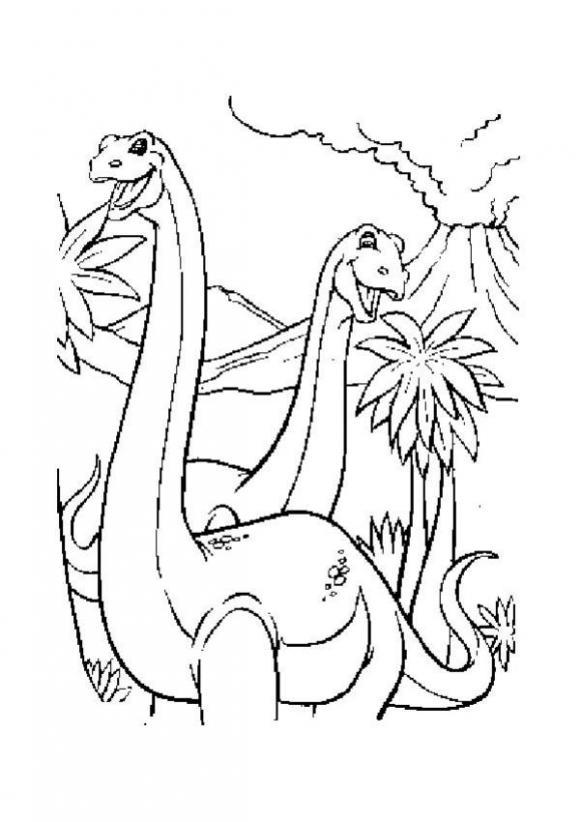 dinosaurierpärchen zum ausmalen zum ausmalen  de