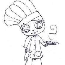 Kleiner Koch zum Ausmalen