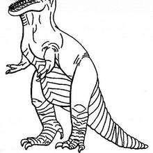 Tyrannosaurus zum Ausmalen