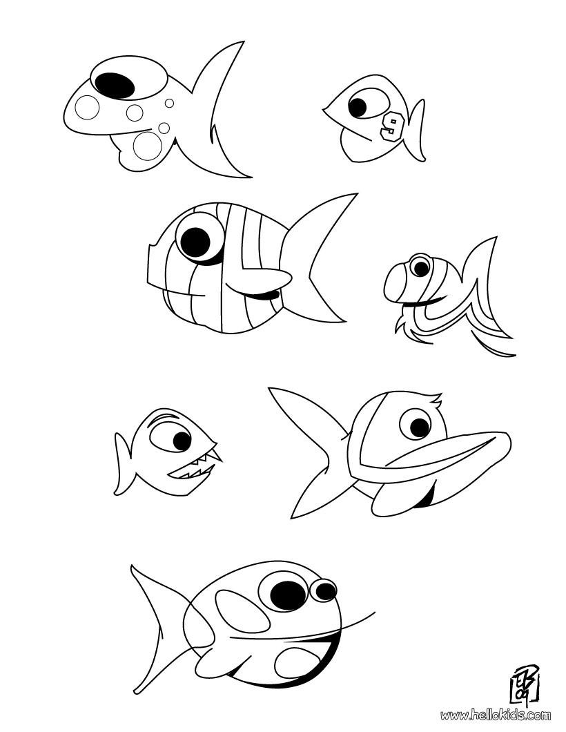 Elegant Fische Zum Ausmalen Ideen Von Großer Wal