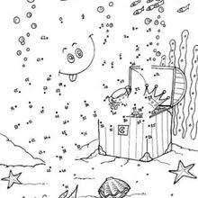 Meereswelt Punkte verbinden
