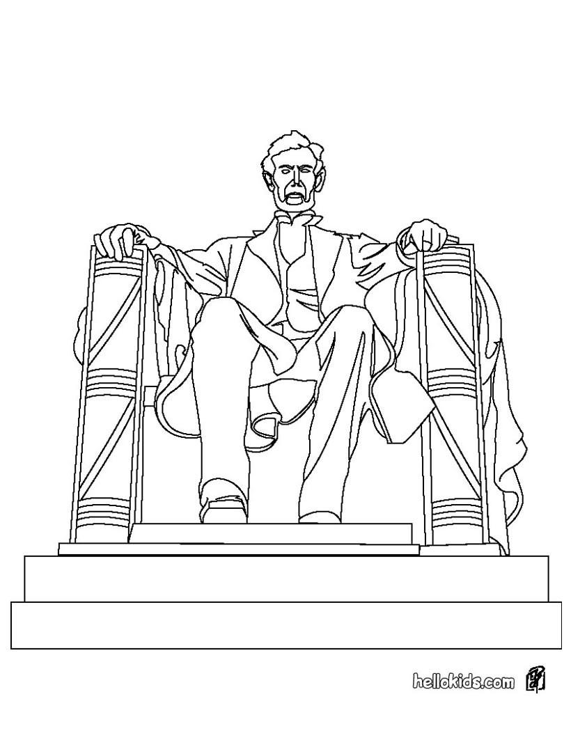 Empire state building zum ausmalen zum ausmalen de hellokids com - Lincoln Statue Zum Ausmalen