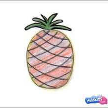 Wie man eine Ananas malt