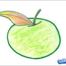 Wie man einen Apfel malt