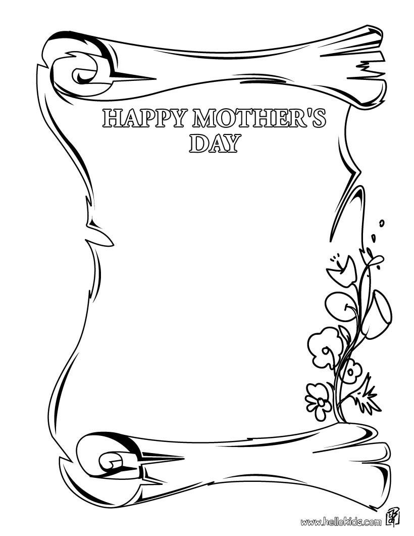 Bezaubernd Schöne Bilder Zum Ausmalen Beste Wahl Alles Gute Muttertag