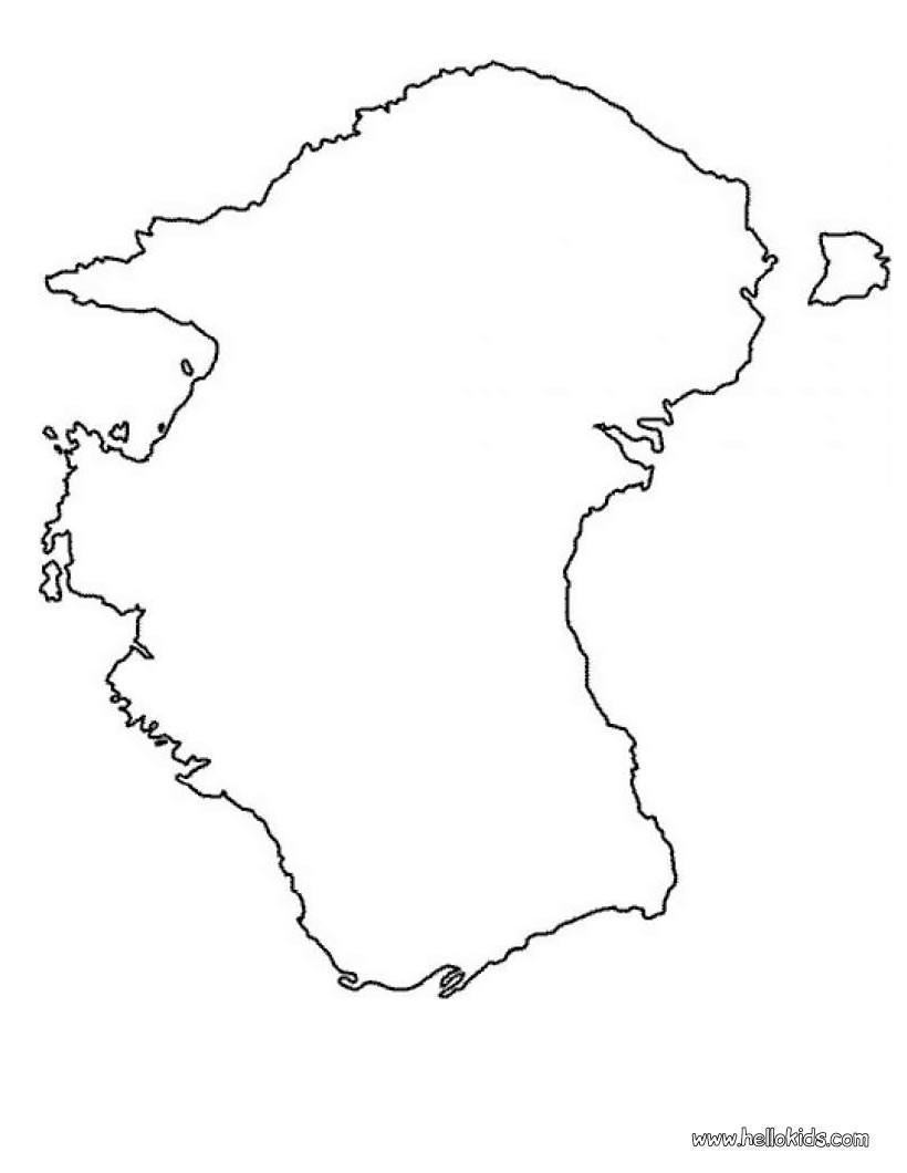 Europakarte zum ausmalen zum ausmalen - de.hellokids.com