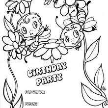 Geburtstagskarten Zum Ausmalen Ausmalbilder Ausmalbilder