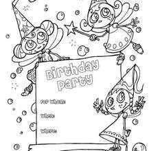 Fee: Geburtstagsparty Einladung