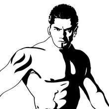 Batista zum Ausmalen