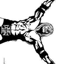 Triple H zum Ausmalen