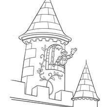 Schloss Ausmalbilder Kostenlose Spiele Lesen Basteln