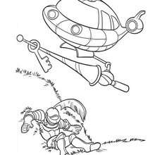 Rocket und Ritter - Kleine Einsteins zum Ausmalen