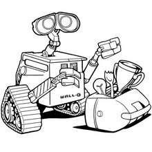 WALL-E zum Ausmalen