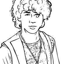 Nick Jonas zum Ausmalen