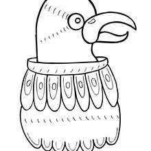 Calandria Vogel zum Ausmalen