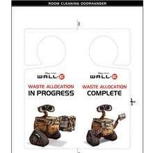 WALL E Türschild zur Raumsäuberung