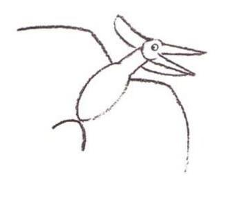 Wie man einen Pteranodon malt