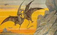 Wie man einen Pterodactyl malt
