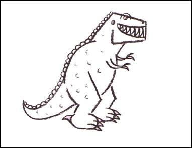 Wie Man Dinosaurier Malt Bilder Für Kinder Wie Malt Man De