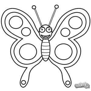 Wie man einen Schmetterling malt