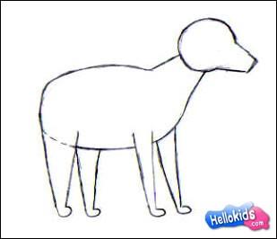 Wie Malt Man Wie Man Einen Hund Malt Dehellokidscom