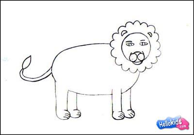 Wie man einen Löwen malt