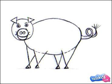Wie man ein Schwein malt