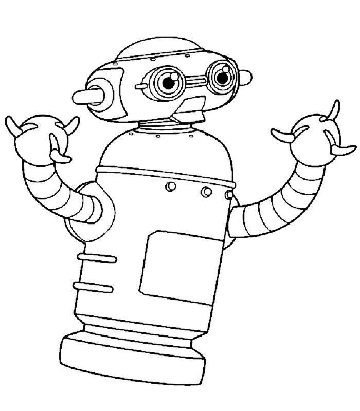 astro roboter zum ausmalen zum ausmalen - de.hellokids