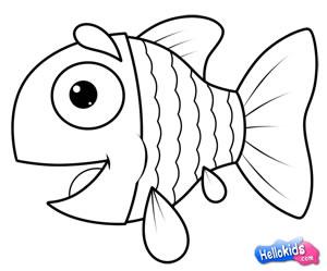 Wie Malt Man Wie Man Eine Süßen Fisch Malt Dehellokidscom
