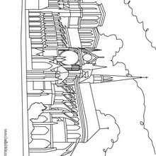 Notre Dame Kathedrale zum Ausmalen