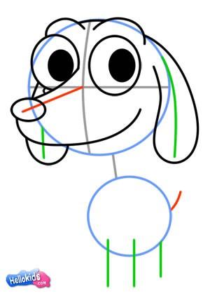Wie man einen süßen Hund malt