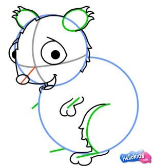 Wie man einen Hamster malt