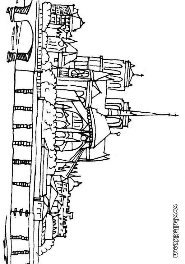 Notre Dame Zum Ausmalen