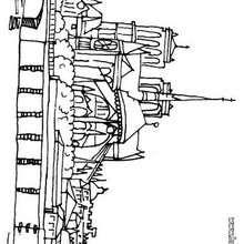 Notre-Dame zum Ausmalen
