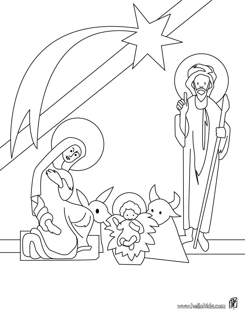 Wunderbar Malvorlagen Jesus Geburt Galerie - Entry Level Resume ...