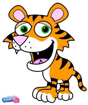 Wie man einen Tiger malt