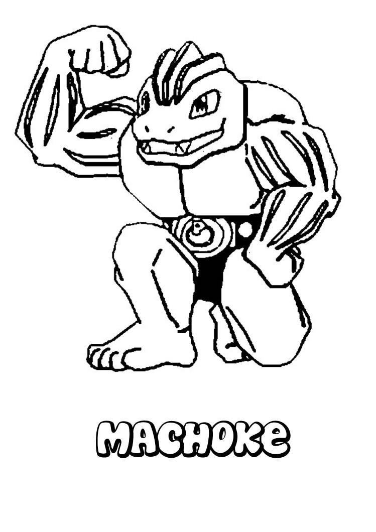 Maschok Pokemon Zum Ausmalen Zum Ausmalen De Hellokids Com