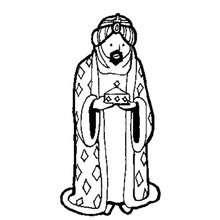 Balthasar zum Ausmalen