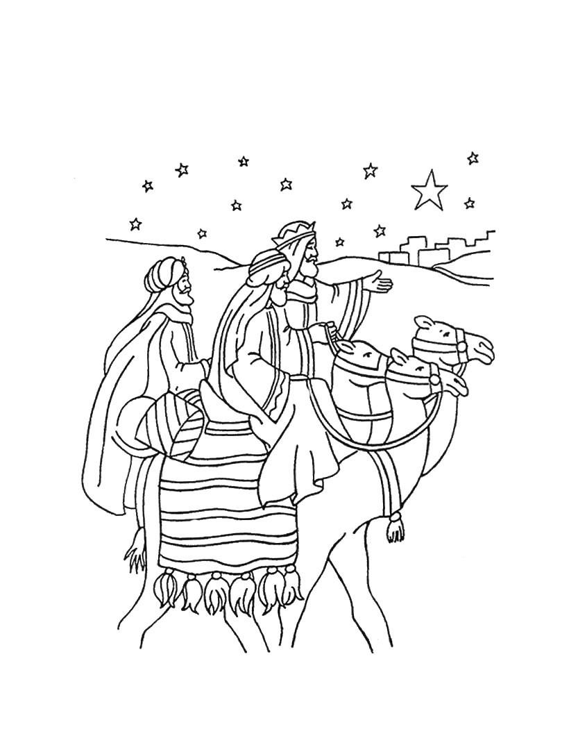 Displaying 14> Images For - Three Kings Coloring Pages...
