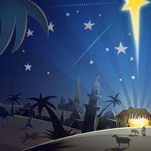 Stern von Bethlehem Poster