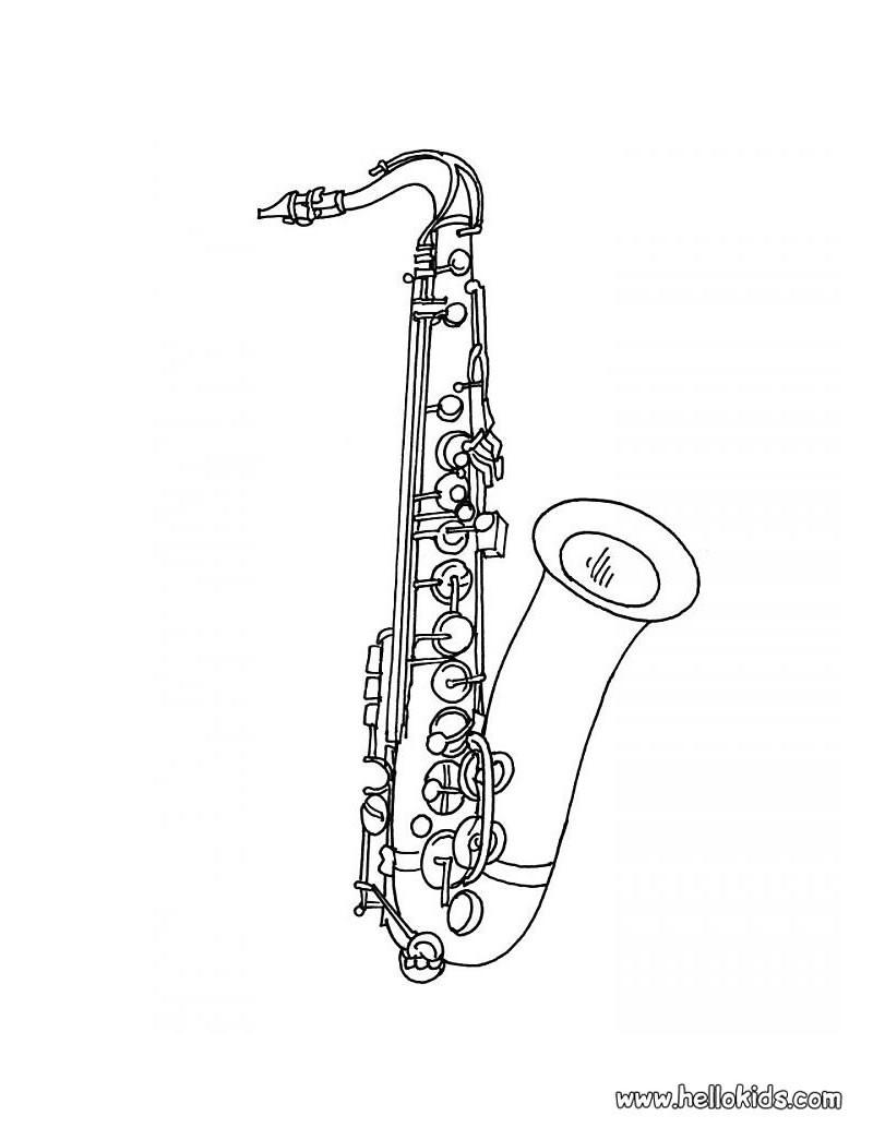 Musikinstrument Zum Ausmalen Ausmalbilder Ausmalbilder