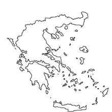 Griechenland zum Ausmalen