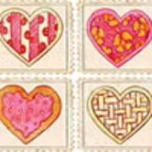 Valentinstag Briefmarken