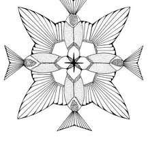 Kolibri Mandala