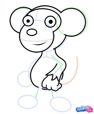Wie man einen Affen malt