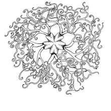 Schlange Mandala