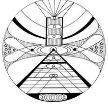 Kosmisches Mandala