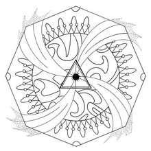 Energiestrudel Mandala